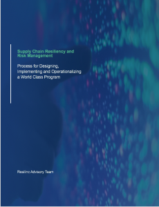 Supply Chain Risk Resiliency & Risk Management 2019 Best Practices