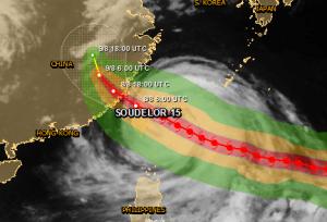 Tech Companies Face Supply Chain Risk as Typhoon Soudelor Strikes Taiwan, Soon China
